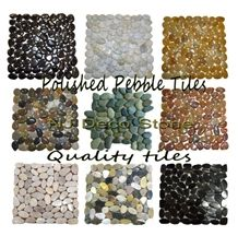 Multicolor Stone Mosaic, Pebble Marble Mosaic