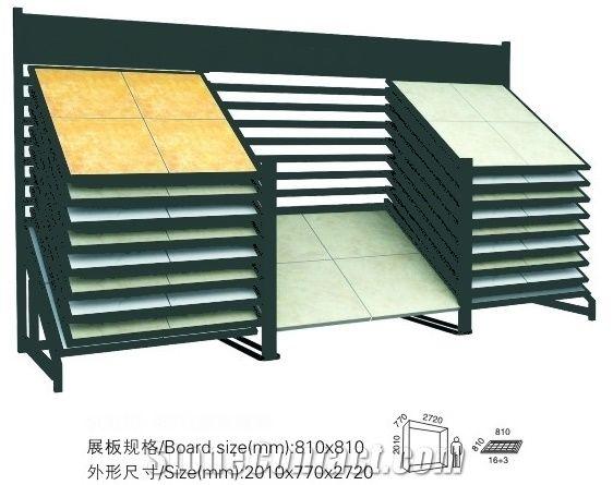 Floor Tile Racks Tiles Exhibition Equipment Gg034