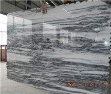 Landscape White, L ,scape White Marble Slabs
