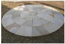 Sandstone Patio, Hohenzollernpark Beige Sandstone
