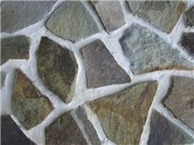 Andesite Irregular Flagstone Wall Tiles