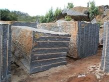 Nero Africa Impala Granite Blocks, South Africa Black Granite