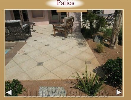 Beige Travertine Patios