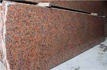 Maple Red Granite Slab (own Quarry)