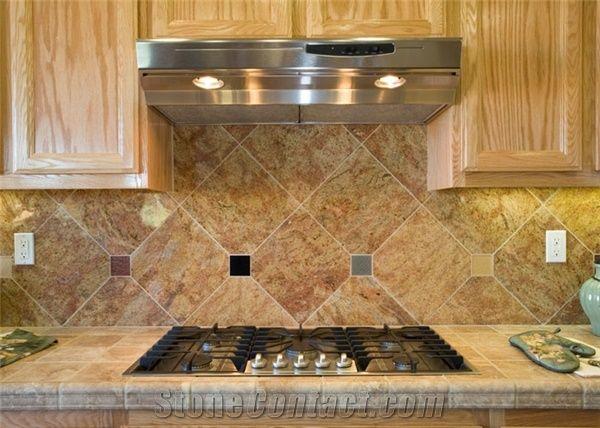 Granite Backsplash Ivory Pink Granite Kitchen Accessories From United States Stonecontact Com