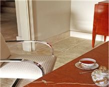 Quipar Claro Marble Tabletop, Red Marble