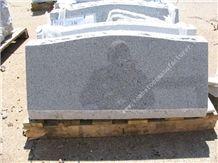 G603 Granite Grave Slant 1