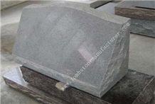 Padang Light Granite Slant Grave Markers