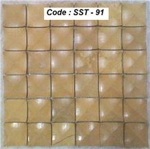 Yellow Marble Mosaic Tiles