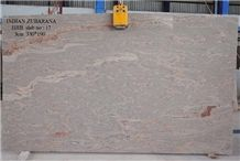 Juparana India Granite Slabs