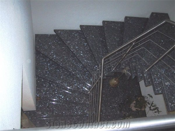 Blue Pearl Granite Stairs Blue Pearl Blue Granite Stairs From China Stonecontact Com