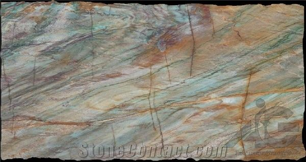 Blue Louise Quartzite Slabs From United States 154092