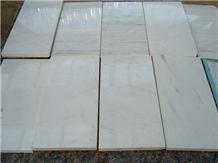 Bianco Polaris Marble Tile, Macedonia White Marble