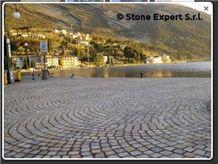 Grey Porphyry Granite Cube Stone