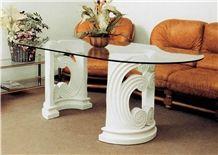 China White Marble Coloum