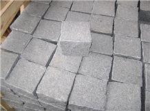 G654 Cube Stone, G654 Black Granite Cube Stone