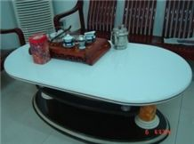 White Marble Tabletop