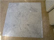 White Carrara Marble Tiles & Slabs, Polished Marble Floor Tiles, Wall Tiles