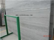 Grey Galaxy Marble, Grey Wood Grain Marble Slabs