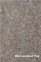 Khorram Dare Pink Granite Tiles & Slabs, Pink Granite Iran Tiles & Slabs