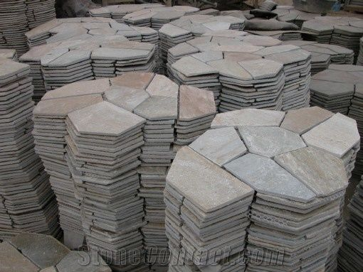 What Is My Paypal Email >> China Multicolor Slate Flagstone Walkway Pavers - StoneContact.com