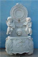 Grey Marble Fountain MP018