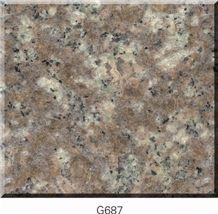 Peach Red Granite G687 Granite Tiles,Slab