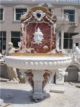 Red Marble Fountain MP030