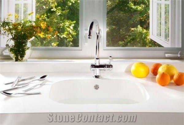 White Silestone Countertops from Uruguay - StoneContact com