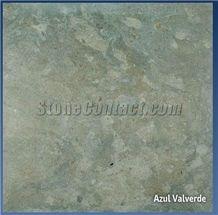 Azul Valverde, Portugal Blue Limestone Slabs & Tiles