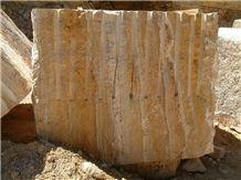 Gold Travertine, Travertino Giallo Travertine Blocks, yellow travertine blocks