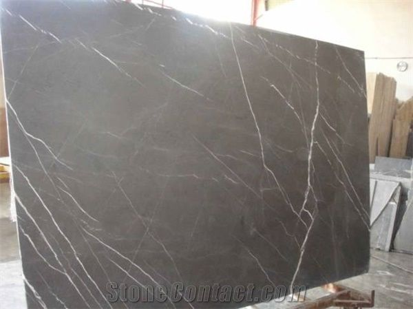 Pietra Grey Marble Slab Iran Grey Marble From China