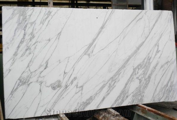 Calacatta Borghini Marble Slab Italy White Marble 159018