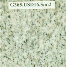 G365 Granite, Zeshan White, Laizhou Sesame White Granite Tiles