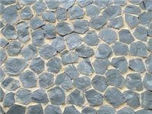 Andesite Landscaping Stones, Black Sea Andesite Cobble, Pavers