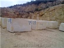 Amarillo Triana Marble Blocks, Spain Yellow