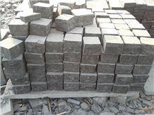 Kadappa Black Limestone Cobble Stone