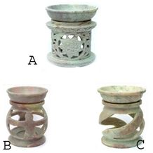 Soapstone Oil Warmer, Aromatherapy Diffusers, Arom