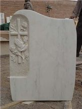 Beige Cross Headstones for Graves