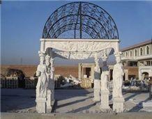 Marble Pavilion Structure