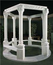 Pillars Marble Gazebo