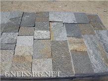 Gneiss Metallic Cutted Tiles