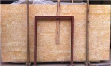 Honey Onyx Slab, China Yellow Onyx, Cream Color Nice Onyx Stone for Floor & Wall
