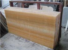 Honey Onyx Tile, China Yellow Onyx