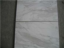 Volakas Marble Tile, Greece White Marble
