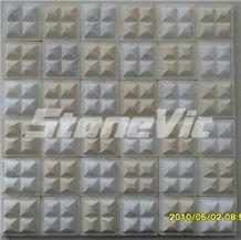 Marble Moasic, Beige Marble Mosaic