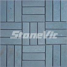 Slate Moasic, Green Slate Mosaic