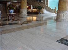 Milk White Marble Flooring Tiles