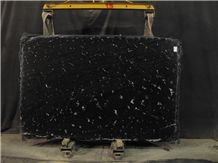 Via Lactea Granite Slabs, Brazil Black Granite