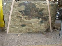 Umburana, Verde Bamboo Quartzite Slabs